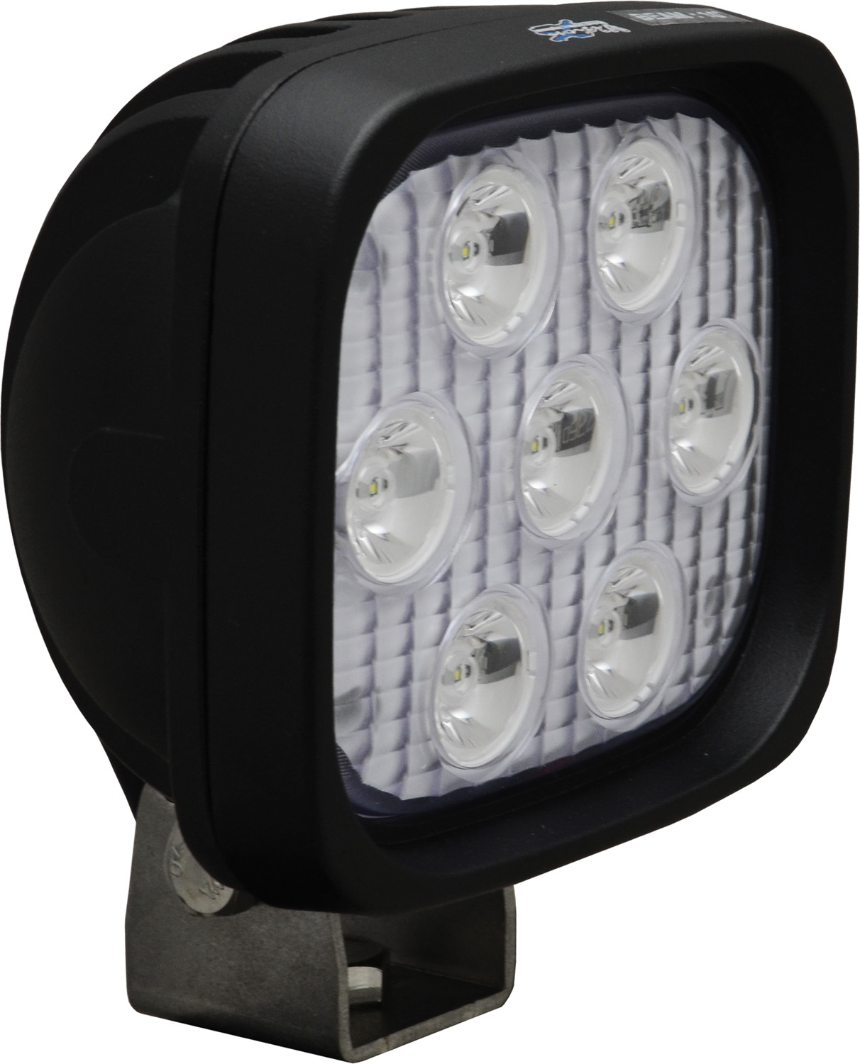 "4"" SQUARE UTILITY MARKET BLACK 7 3W LED'S 10ç NARROW"