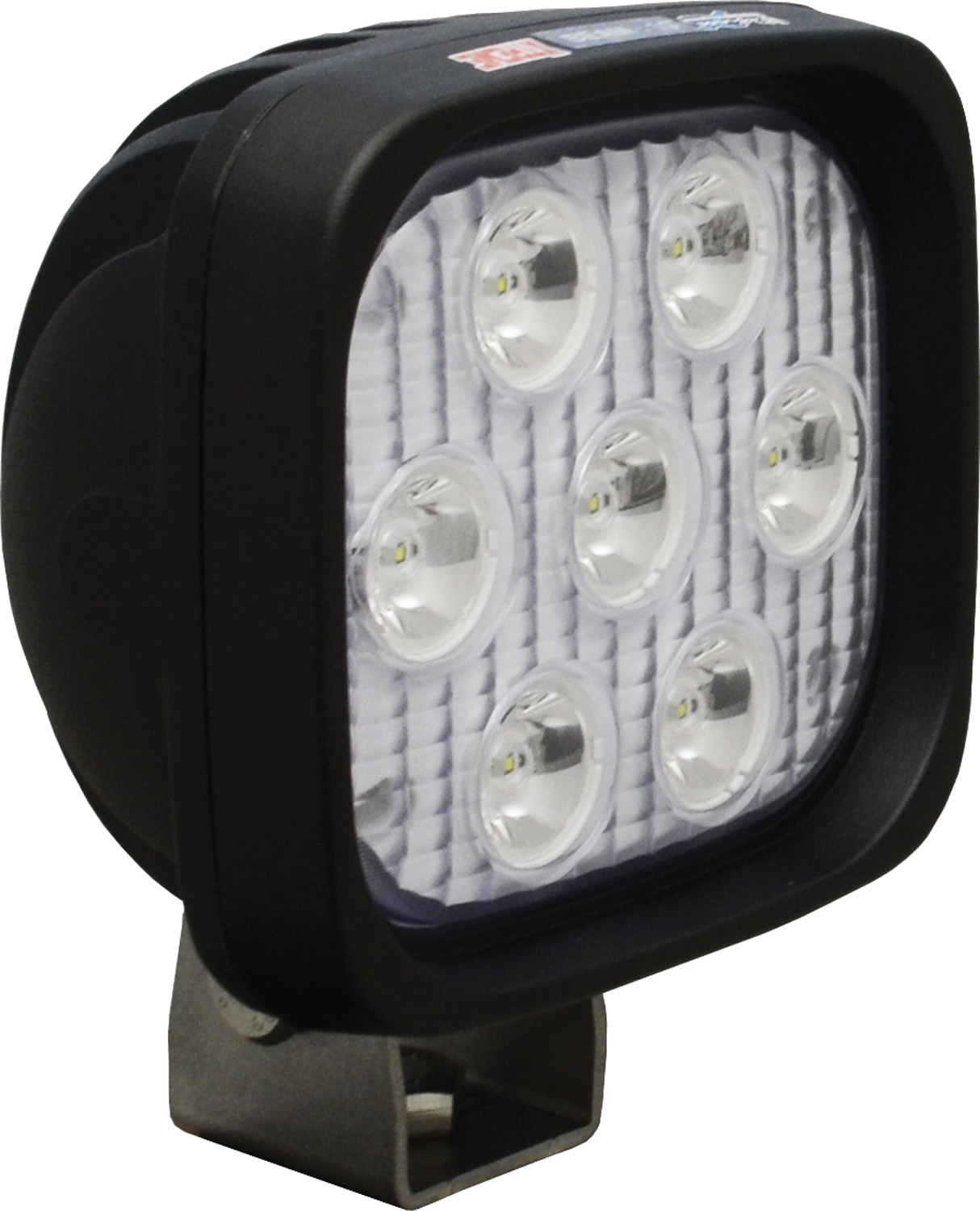 "4"" SQUARE UTILITY MARKET XTREME BLACK 7 5W LED'S 10ç NARROW"