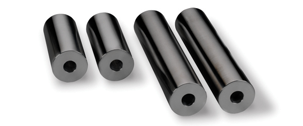 "Warrior Products ALUMI-ROLLERS Universal 7.5"" Wide Black Anodize"