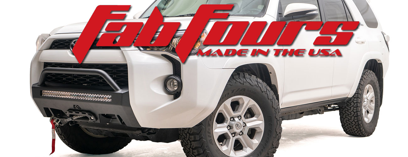 New Hidden Winch Mount Available From Fab Fours!