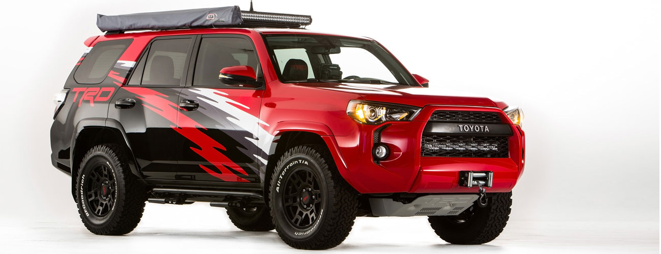Toyota 4Runner Accessories!