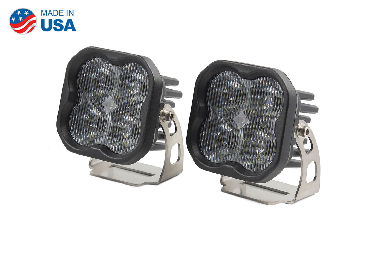 Diode Dynamics Worklight SS3 Pro White SAE Fog Standard (pair)