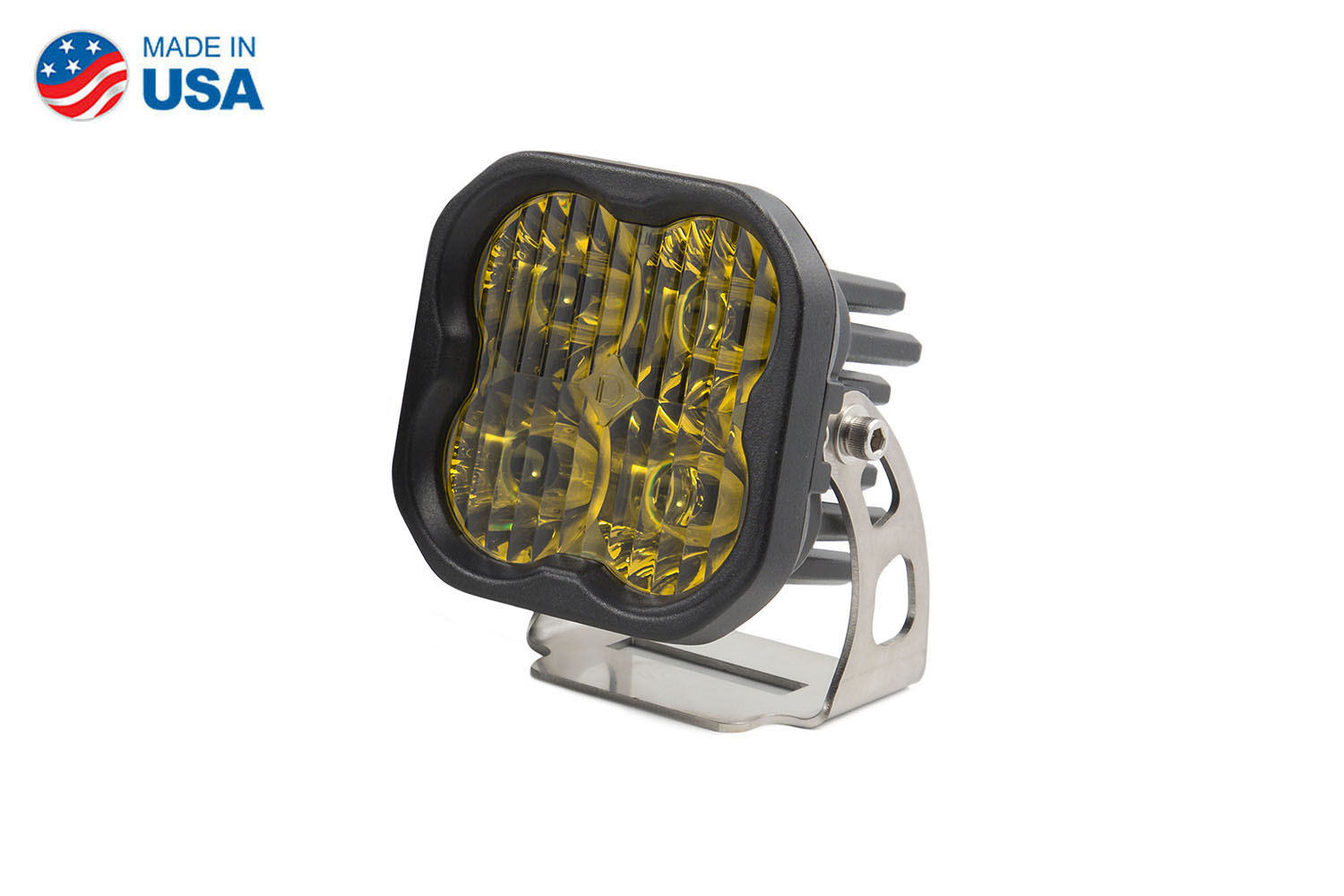 Diode Dynamics Worklight SS3 Sport Yellow Driving Standard (single)