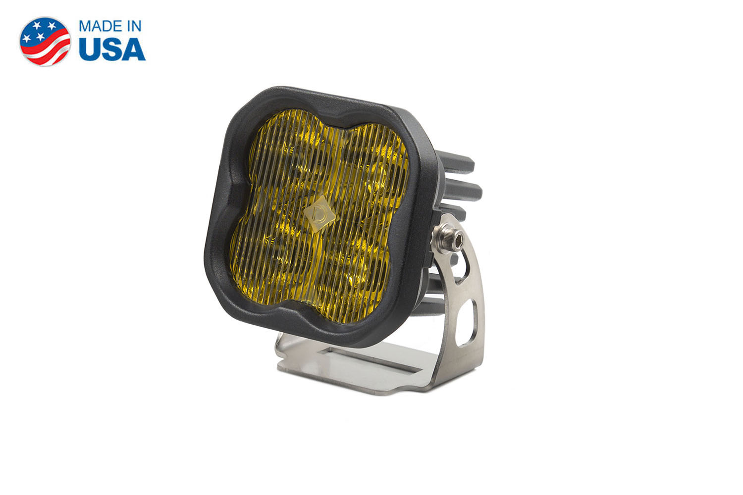 Diode Dynamics Worklight SS3 Sport Yellow SAE Fog Standard (single)