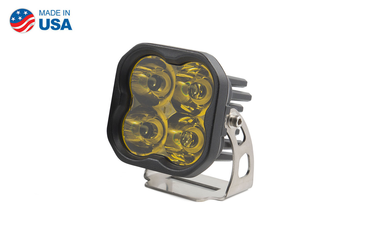 Diode Dynamics Worklight SS3 Pro Yellow Spot Standard (single)