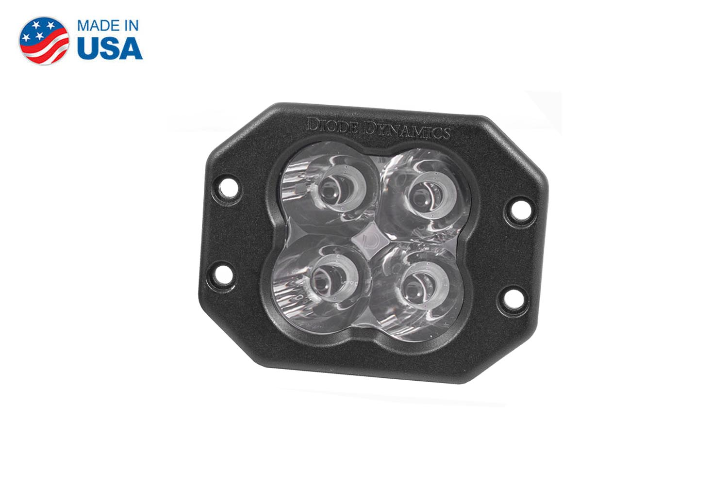 Diode Dynamics Worklight SS3 Pro White Spot Flush (single)
