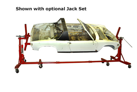 Auto Dolly Rotisserie (with jacks)