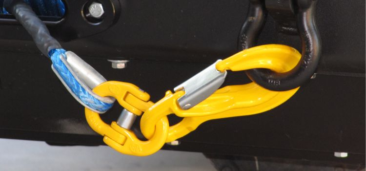 XD Yellow Winch Hook