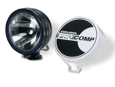 100 Watt 6 inch Light by Pro Comp - BLACK