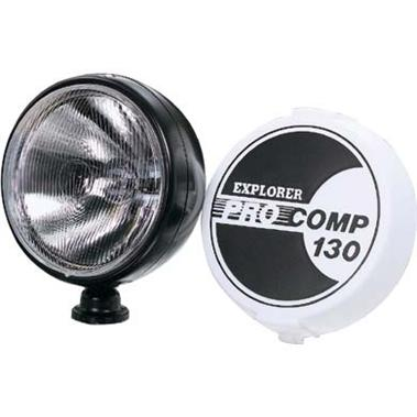 "130 Watt 8"" Light by Pro Comp - BLACK"