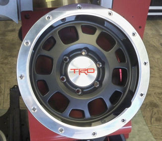 TRD 16 Off-Road Beadlock Style Wheel (1 each)