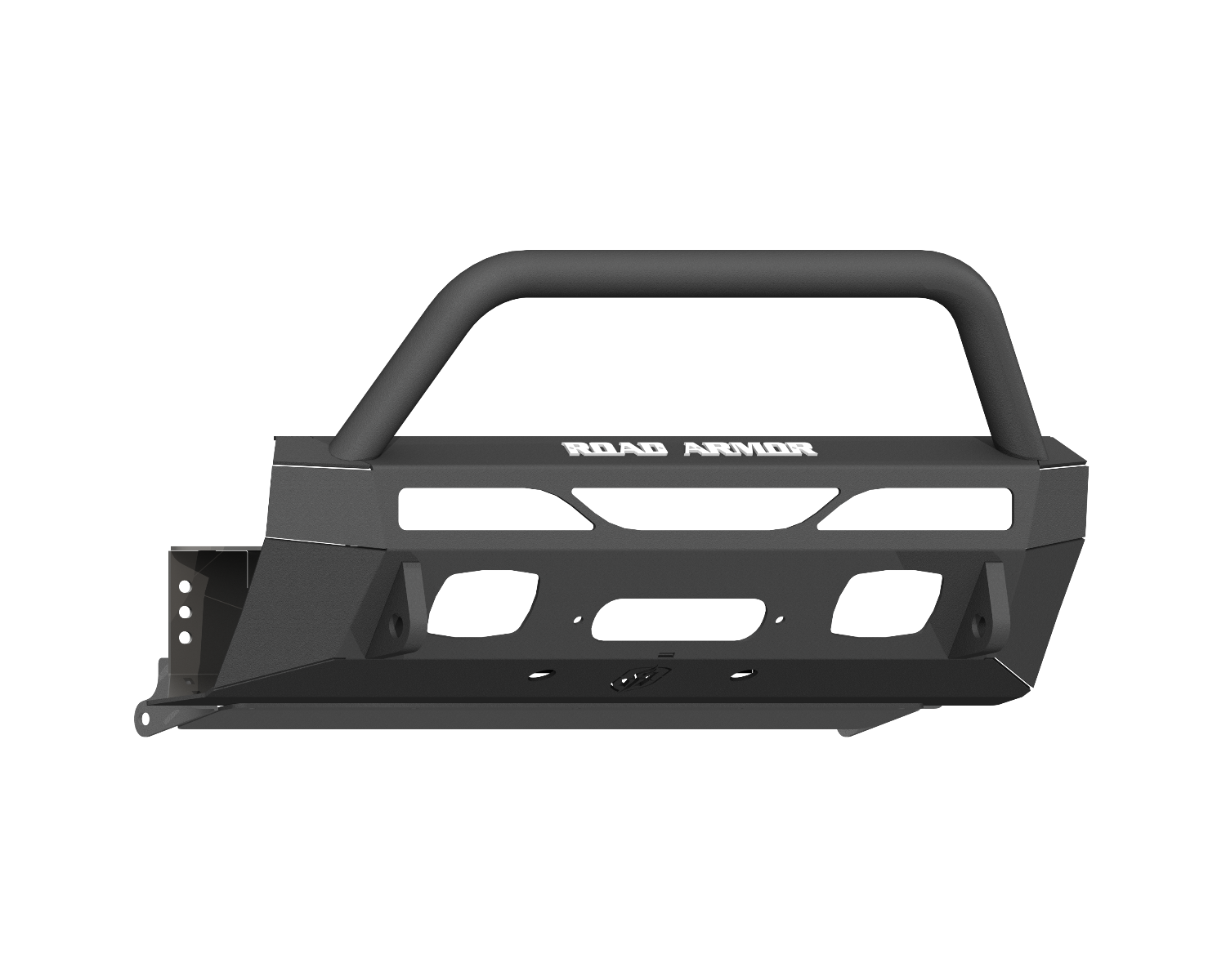 Stealth Front Low Profile Hiden Winch Bumper 2014+