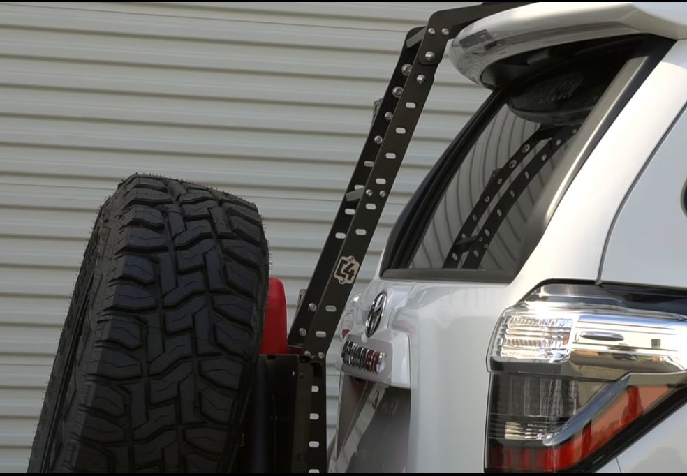 C4 Fabrication 4Runner Summit Hatch No Drill Ladder 2010+