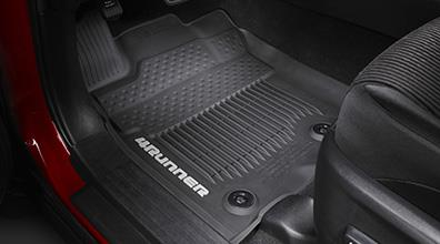 Toyota 4Runner All Weather FLoor Liners - Black - 2016+