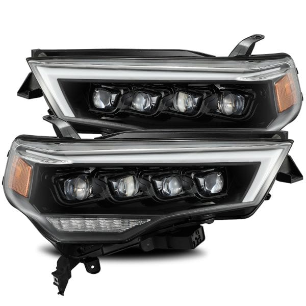 Alpha Rex 4Runner NOVA-Series LED Projector Headlighhts, Mid-Night Black - 2014+ - Ships Free