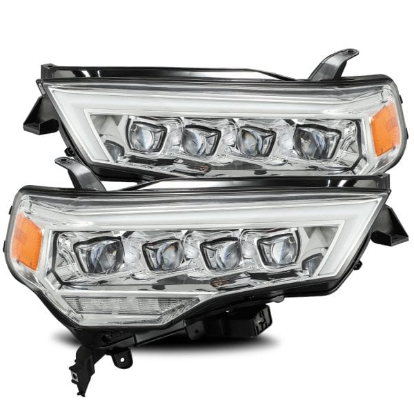 Alpha Rex 4Runner NOVA-Series LED Projector Headlighhts, Chrome - 2014+ - Ships Free