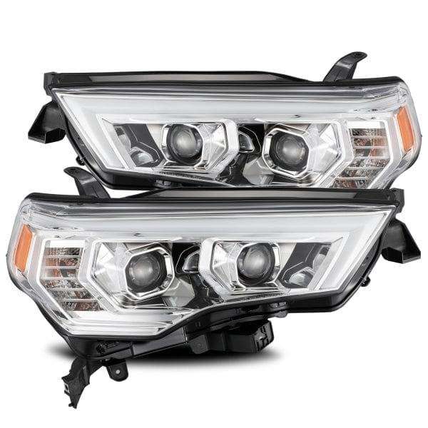 AlphaRex 4Runner PRO-Series Projector Headlights, Chrome 2014+ - Ships Free