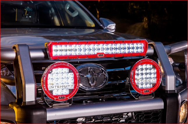 "ARB Intensity 20"" LED Spot Bar w/2.3"" Mount Kit - 2001+"