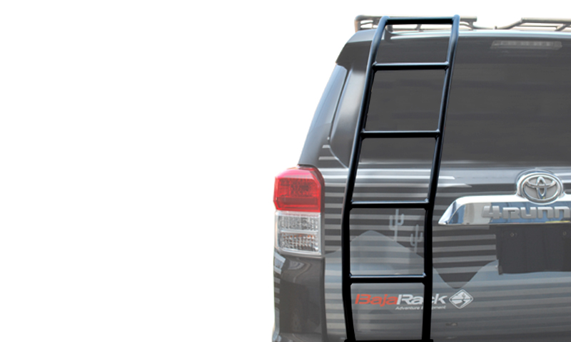 Baja Rack Rear Ladder for Gen 5 4Runners