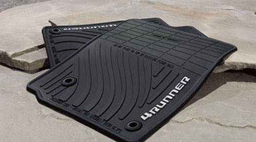 4Runner All-Weather Floor Mats Black 2012+