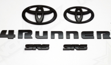 4Runner SR5 Emblem Kit - 2014+