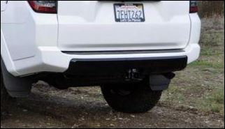 TRD Pro 4Runner Rear Valance (Black) 2014+