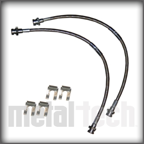 Metal Tech FJ Cruiser/4Runner Extended Brake Lines - Rear - 2003+