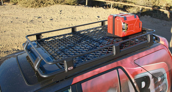ARB Double Jerry Can Holder for ARB Roof Racks