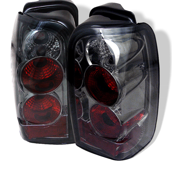 Spyder 4 Runner 96-02 Euro Style Tail Lights - Smoke 1996-2002