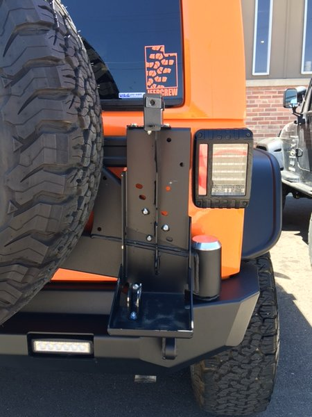 Expedition One 4Runner Hi-Lift/Pull Pal Mount System - For Smooth Motion Tire Carrier Arms