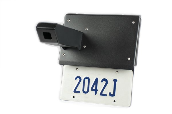 Expedition One Camera License Plate Extensio n for Dual Rear Swing-out - Gen 5