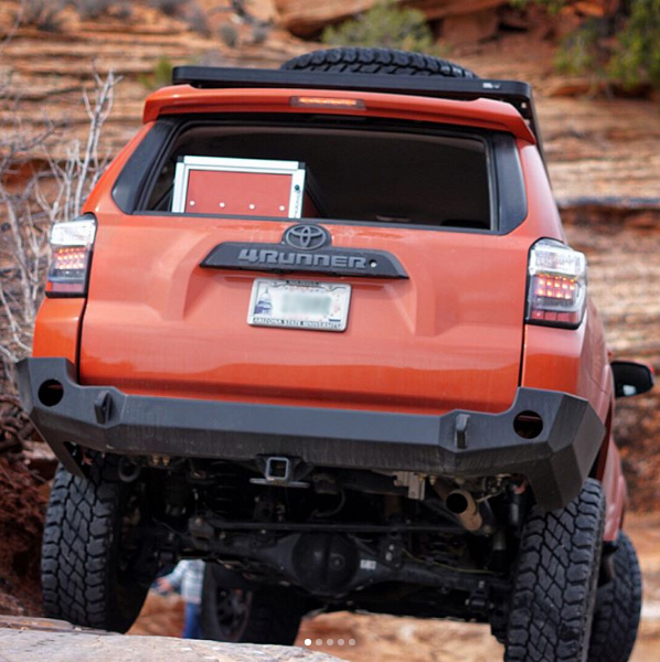 Expedition One Trail Series Base Rear Bumper