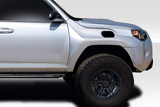 Extreme Dimensions 4Runner Duraflex Replacement Fenders(2) for Snorkels 2014+
