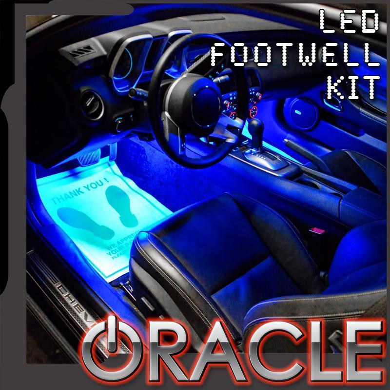 Oracle Ambient LED Lighting Footwell (etc.) Kit - Blue
