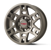 "TRD Pro Graphite 17"" Wheel & Center Cap 2001+"