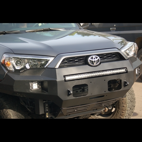 Metal Tech 5th Gen 4Runner (2014+) Fortress Front Bumper Stage 1