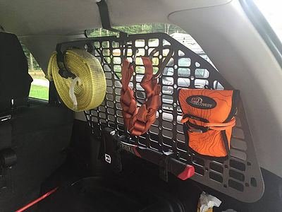 Orange Boxx 5th Gen Passenger Side Storage - 2009-2018