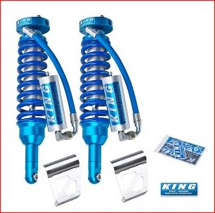 King Front 2.5 Remote Reservoir Coilovers NO KDSS 2010+ (Free Shipping)