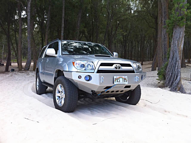 Shrockworks 4Runner Front Bumper 2003-2009 (Custom - Long Lead Time)