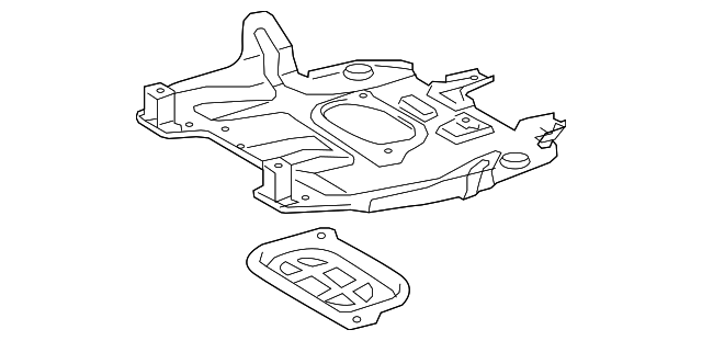 Toyota Engine Skid Plate