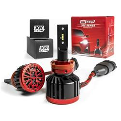 XK Glow - 62watt LITE Series LED Headlight Bulb Conversion Kit - Fog Light
