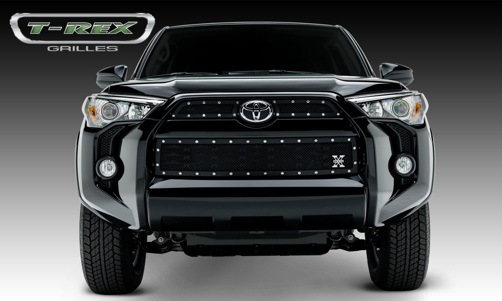 4 Runner X-Metal, Formed Mesh Grille, Main & Bumper Kit, Overlay, 3 Pc's 2014+ (Ships Free)