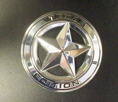 Toyota Texas Edition round star - chrome plated 2006+
