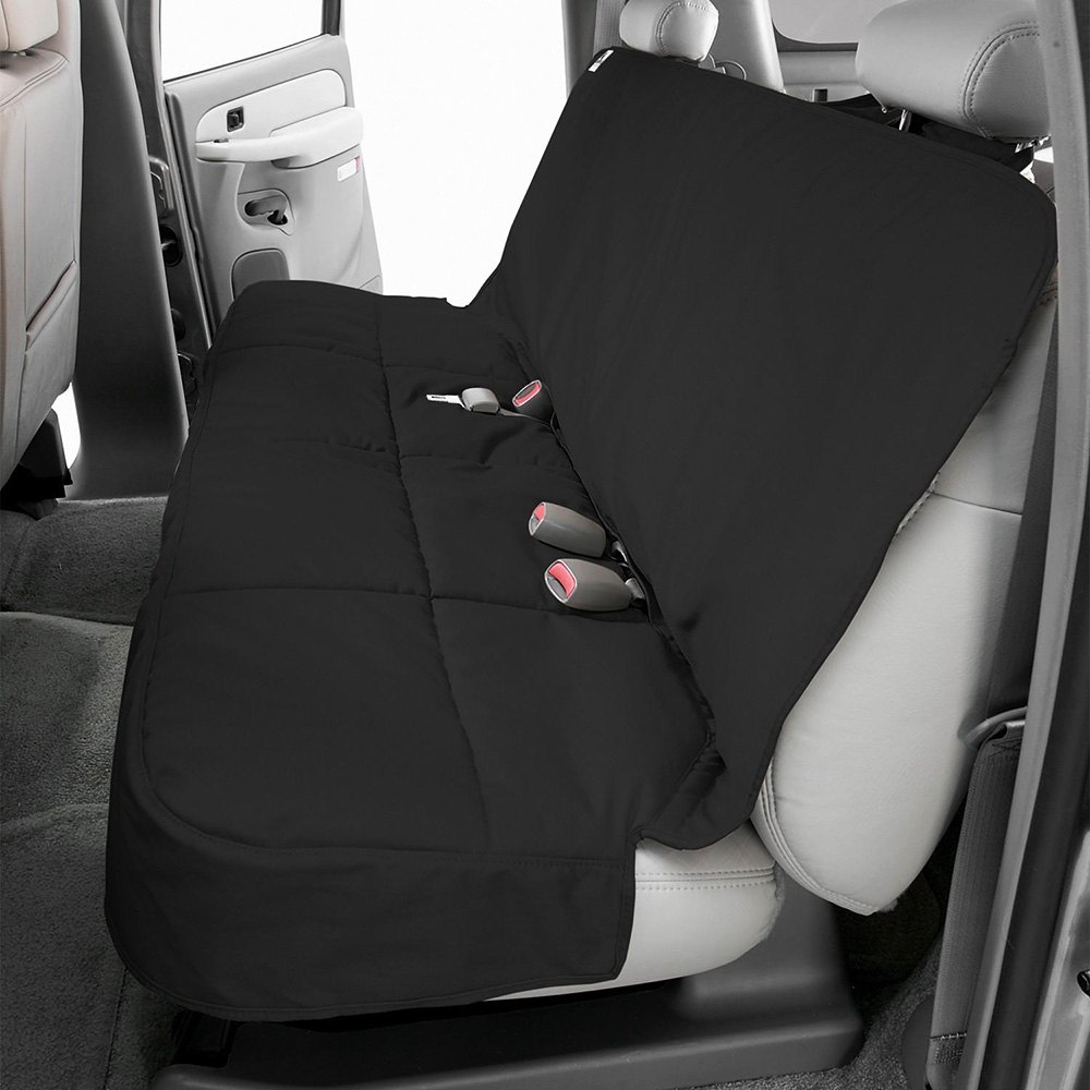 CoverCraft Rear Seat Cover SR5 Canine Friendly (Set of 2) - Black