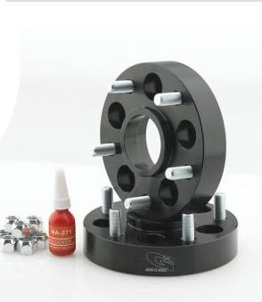 "G2 Wheel Spacer Kit 1.25"" Hub Centric (Black, Pair)"