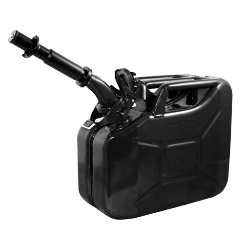Wavian Black 10 Liter Steel Jerry Can - 1 Can