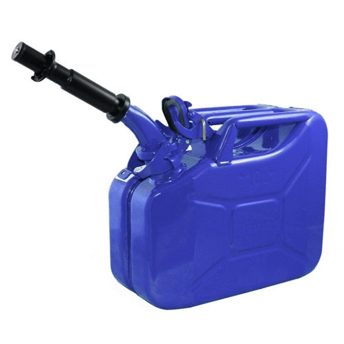 Wavian Blue 10 Liter Steel Jerry Can - 1 Can