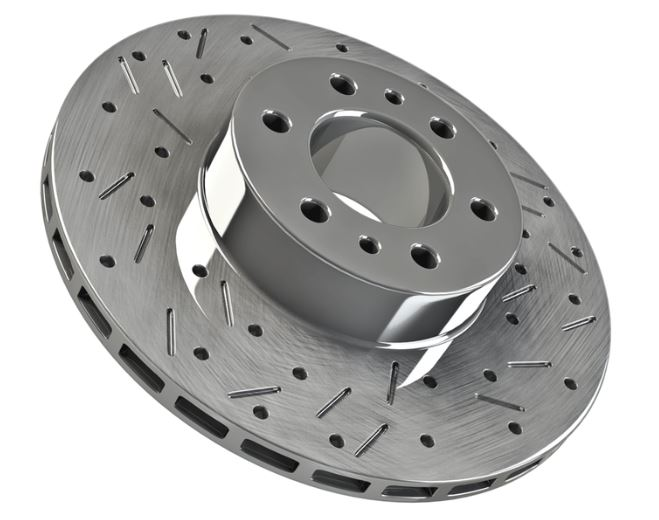 Toyota High Performance Rear Brake Rotor