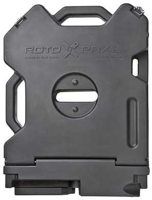 ROTOPAX 2 Gallon Single Storage - Grey