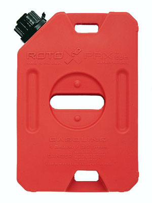 ROTOPAX 1 Gallon Gasoline Pack - Red